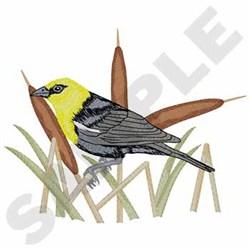 Blackbird embroidery design