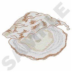 Oyster embroidery design