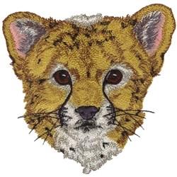 Cheetah Cub embroidery design