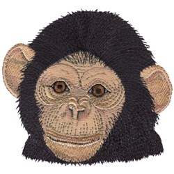 Baby Chimpanzee embroidery design