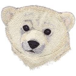 Polar Bear Cub embroidery design