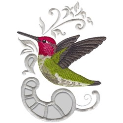 Anns Hummingbird embroidery design