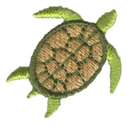 Turtle embroidery design