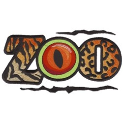 Zoo Logo embroidery design