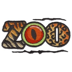 Zoo Logo embroidery design