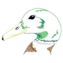 Mallard Head embroidery design