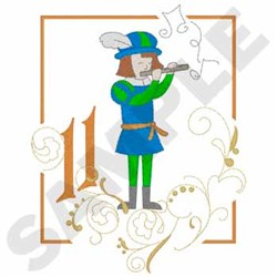 Piping Pipers embroidery design