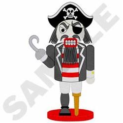 Pirate Nutcracker embroidery design