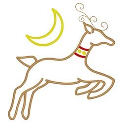 Santas Favorite Reindeer embroidery design