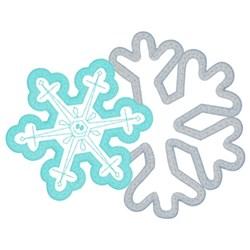 Winter Applique embroidery design