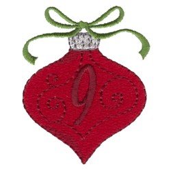Christmas Ornament 9 embroidery design