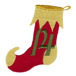 Christmas Stocking 14 embroidery design