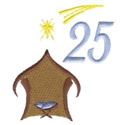 Nativity Scene 25 embroidery design