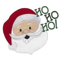 Merry Xmas Santa embroidery design