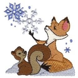Winter Wonder Friends embroidery design