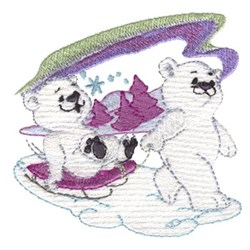 Polor Pals embroidery design