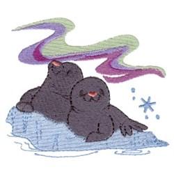 Polar Pals embroidery design