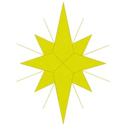 Star Of Bethlehem embroidery design