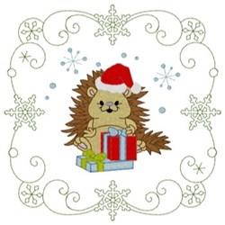 Porcupine Quilt Square embroidery design