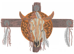 INDIAN TOTEM embroidery design