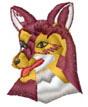 FOX HEAD embroidery design