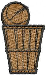 Backyard Basketball embroidery design