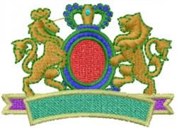 Banner Emblem embroidery design