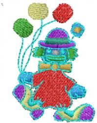 Clown Balloons embroidery design