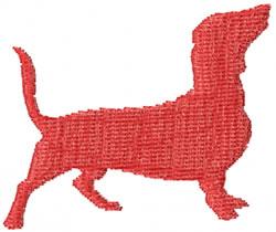 Dachshund 2 embroidery design