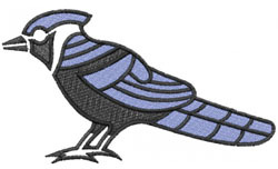 BLUE JAY NO.2 embroidery design