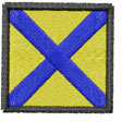 NAVY FLAG 5 embroidery design
