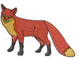 Fox #2 embroidery design