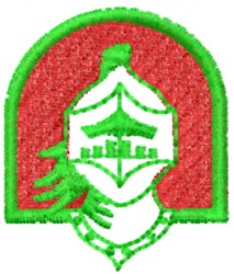 Knight Logo embroidery design
