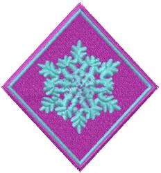 Napkin Collar embroidery design