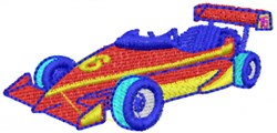 Race Car 6 embroidery design