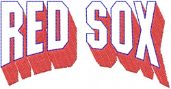 Red Sox embroidery design