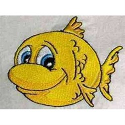 Cartoon Fish embroidery design
