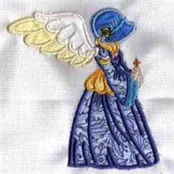 Applique Angel embroidery design