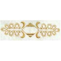 Diamond Border embroidery design