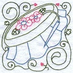 Embroidery Quilt Block embroidery design