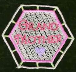 FSL Grandmother Sachet embroidery design