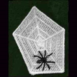 FSL Spider Web embroidery design