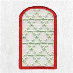 Santa Box Side embroidery design