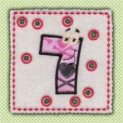 Lace Up Page 7 embroidery design