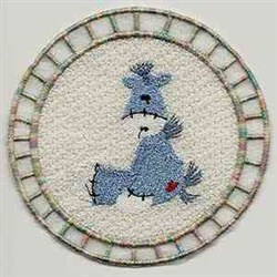 FSL Pony Circle embroidery design