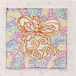 Qrnament Quilt Block embroidery design
