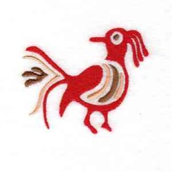 Native Bird embroidery design