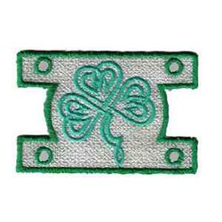St Patrick Windsock embroidery design