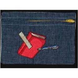 Book & Pen Bag embroidery design