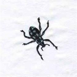 Black Bug embroidery design